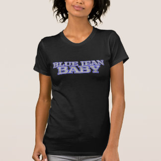 Ladies Basic Black Blue Jean Baby T-Shirt
