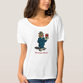 Ladies Beaver T-Shirt | Qwiznibet.com
