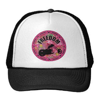 Ladies Biker Freedom Trucker Hat