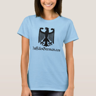 Ladies Black Eagle Logo T-Shirt