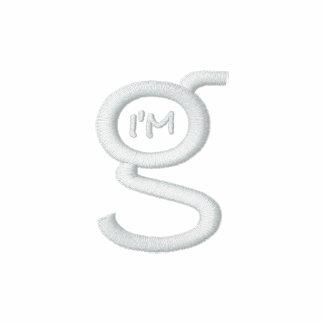 Ladies Black Zip Hoodie w White Logo