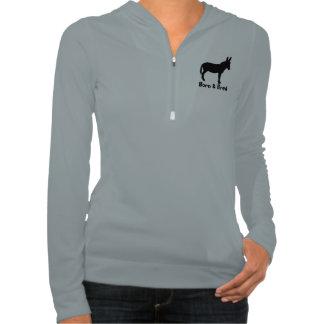 Ladies Born & Bred Donkey Alo Half Zip Pullover