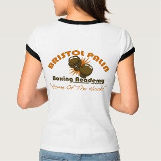 "Ladies' ""Bristol Palin Boxing Academy"" Ringer Tee"
