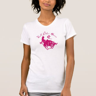 LADIES BULL RIDER QUEEN T- SHIRT