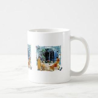 Ladies by the water coffee mug