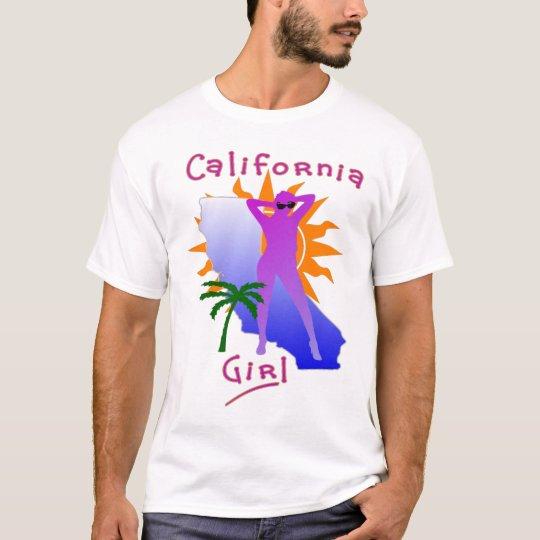 LADIES CALIFORNIA GIRL ESSENTIAL CREW TOP
