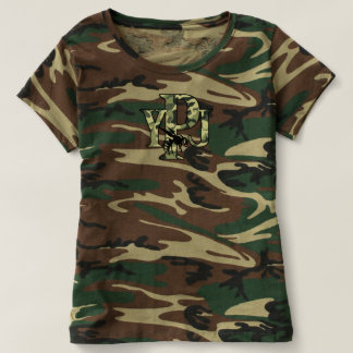 Ladies Camo T T-shirt