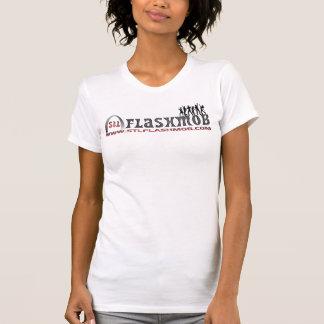 Ladies Casual Scoop Tee Shirts