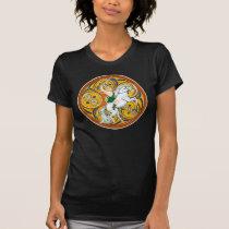 Ladies Celtic t-shirts, Celtic Warrior Lugh T-Shirt