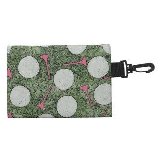 Ladies Clip On Golf Tee Bag