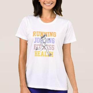 Ladies Customizable Slogan Sport and Fitness Shirts