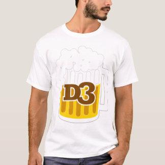 Ladies D3 Beer Mug T-Shirt