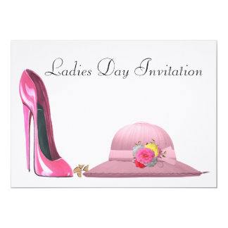 Ladies Day Invitation
