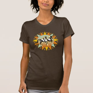 Ladies Desert Star Paint Horse Petite T-Shirt