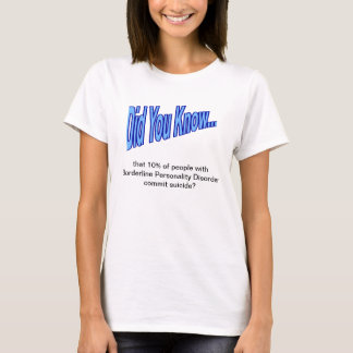 "Ladies ""Did You Know..."" Fact #1 T-Shirt"