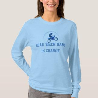 Ladies dirt biker t-shirt