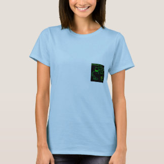 Ladies Discreet Design T-Shirt