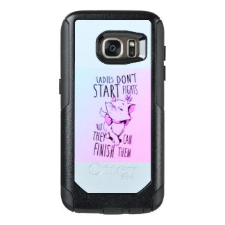 Ladies dont start fights, but we can finish them OtterBox samsung galaxy s7 case