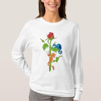 Ladies Dragon Rose hoodie