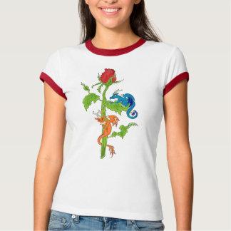 Ladies dragon rose shirt