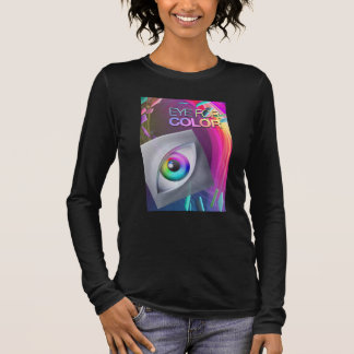 Ladies Eye For Color Fitted Long Sleeve Long Sleeve T-Shirt