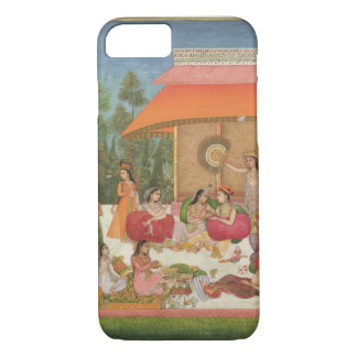 Ladies feasting, from the Small Clive Album iPhone 7 Case
