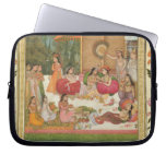 Ladies feasting, from the Small Clive Album Laptop Sleeves