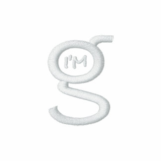 Ladies Fitted Polo w White Logo