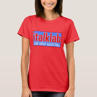 Ladies flashy red italklab t-shirt. T-Shirt