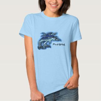 Ladies Florida dolphin shirt