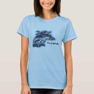 Ladies Florida dolphin shirt