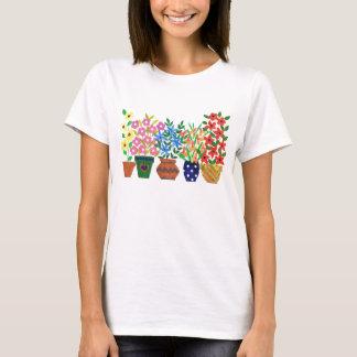 Ladies Flower Power T-shirt