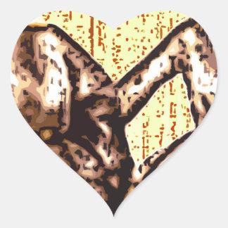 Ladies - Friends Heart Sticker