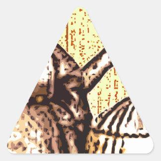 Ladies - Friends Triangle Sticker