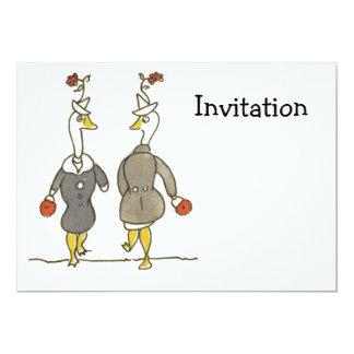 Ladies Geese Card