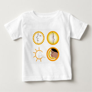 Ladies getting skin tanned baby T-Shirt
