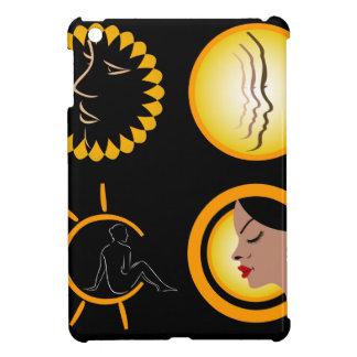 Ladies getting skin tanned iPad mini cases
