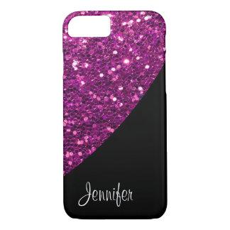 Ladies Glitter Monogram iPhone 7 Case