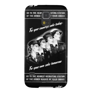 Ladies Go to The Nearest Recruiting Station Galaxy S5 Covers