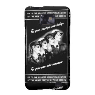 Ladies Go to The Nearest Recruiting Station Galaxy SII Cover
