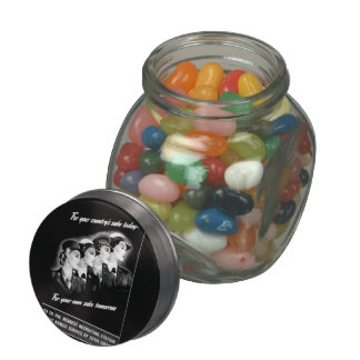 Ladies Go to The Nearest Recruiting Station Jelly Belly Candy Jar