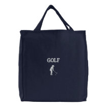 Ladies Golf Bag Embroidered