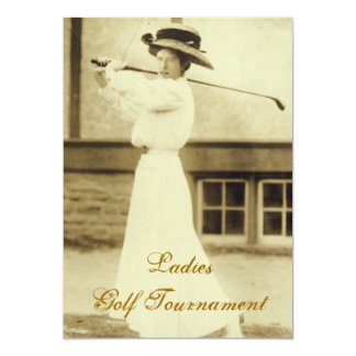 Ladies Golf Tournament Invitations