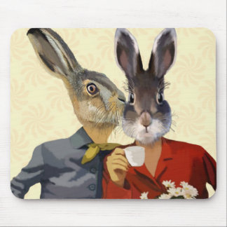 Ladies Gossiping Mouse Pad