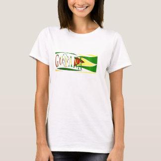 Ladies Guyana T'Shirt Design23 T-Shirt
