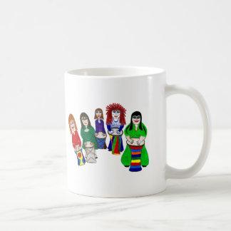 Ladies Half Drum Circle Coffee Mug