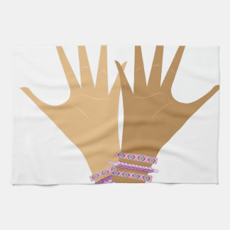Ladies Hands Kitchen Towels