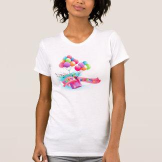 Ladies Happy birthday T-shirt