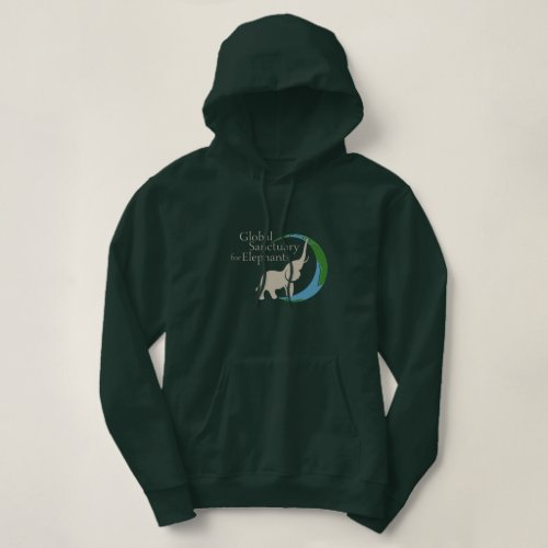 Ladies hoodie with logo
