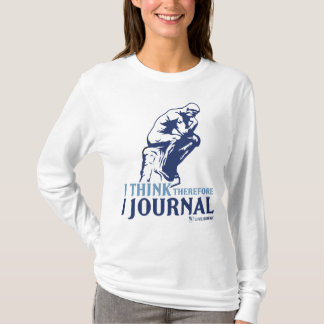 Ladies Hoodies (I Think, Therefore I Journal)
